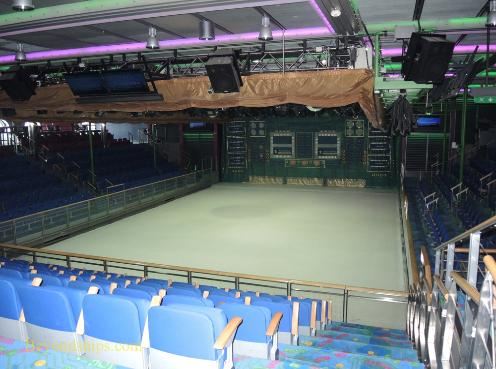 Explorer of the Seas, cruise ship, ice rink