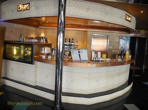 Carnival Glory cruise ship Creams