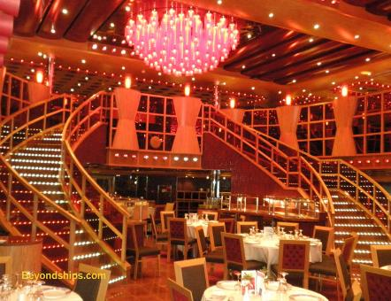 Carnival Fascination Dining Rooms