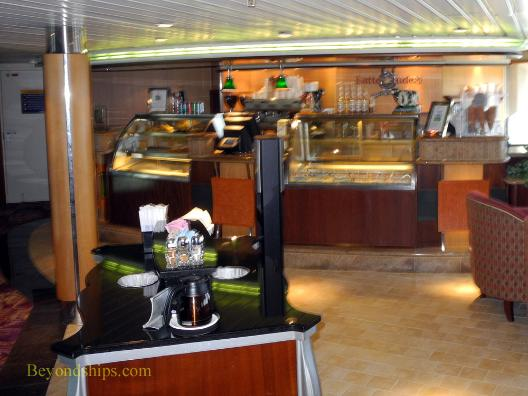 Cafe Latte-Tudes, cruise ship Legend of the Seas