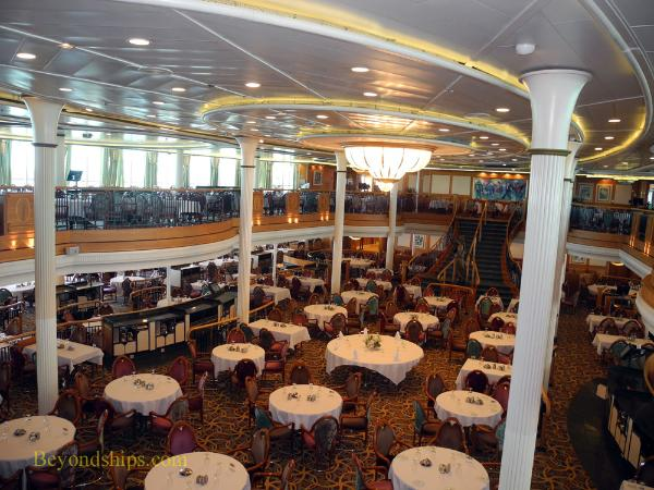 Grandeur of the Seas  main dining room. Grandeur of the Seas   Photo Tour and Commentary   Dining