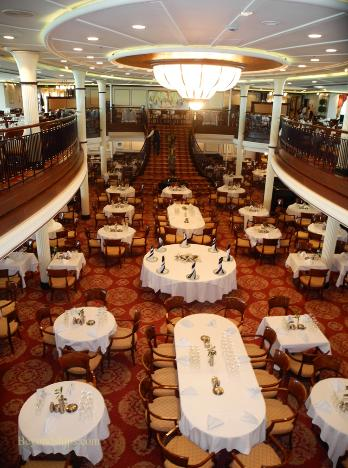 Enchantment Of The Seas Photo Tour And Commentary Dining