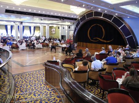 Queen Mary 2 - Dining fearture -Afternoon Tea