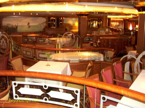 Sea Princess cruise ship, main dining room