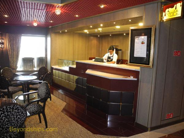 Westerdam cruise ship dining