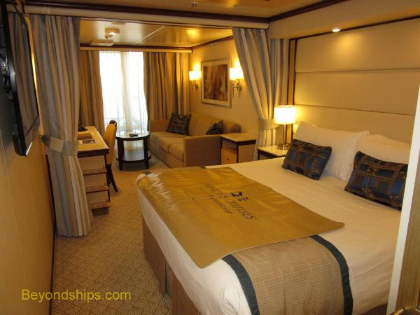 Princess cruise staterooms images for Cruise balcony vs suite