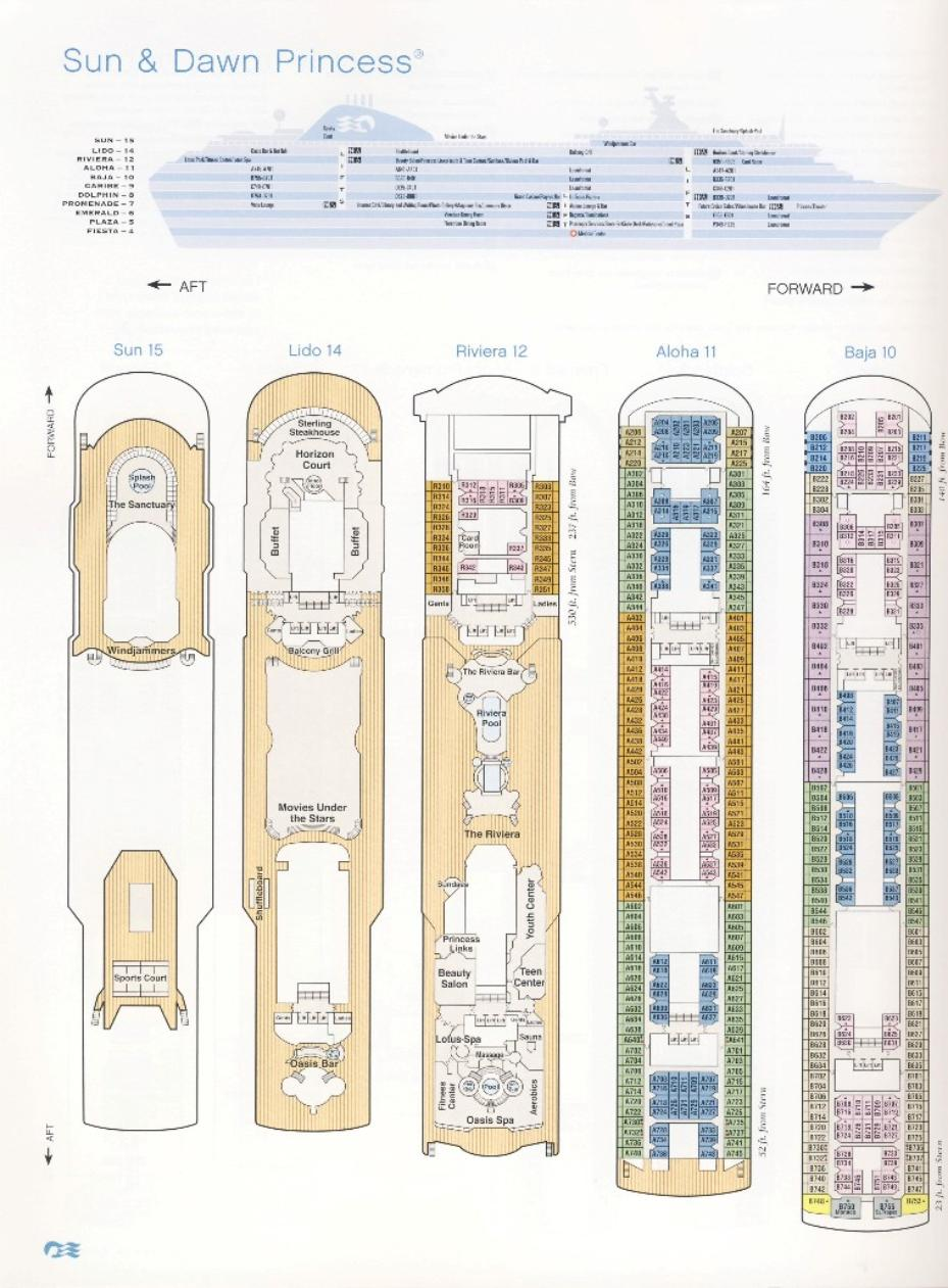 cabin plan emerald princess