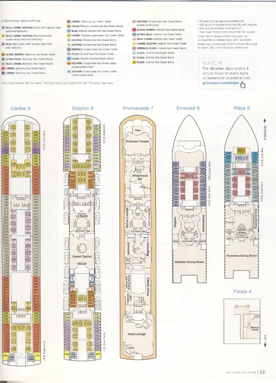 Dawn princess deck plan beyondships home baanklon Image collections