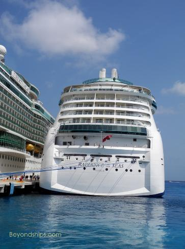 Image of Royal Caribbean cruise ship Radiance of the Seas