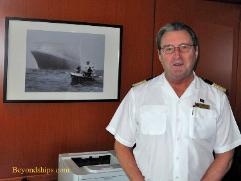 Picture of David Hamilton of Cunard Line