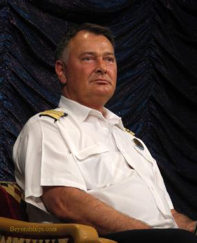 Grandeur of the Seas, Captain Trond Holm