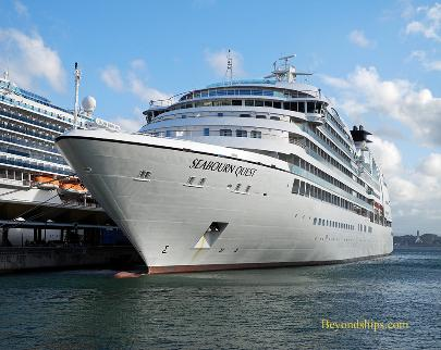 cruise ship Seabourn Quest
