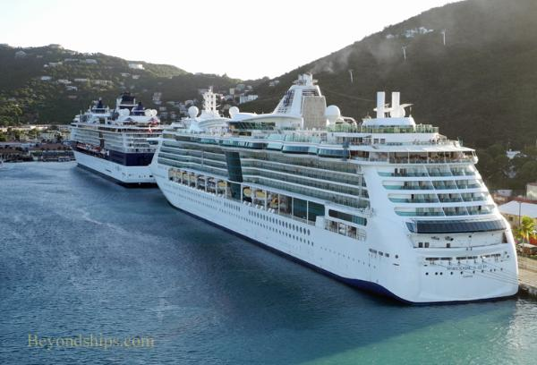Cruise ship pictures - Serenade of the Seas and Celebrity Summit