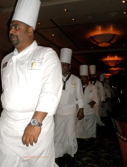 Chefs, Queen Mary 2