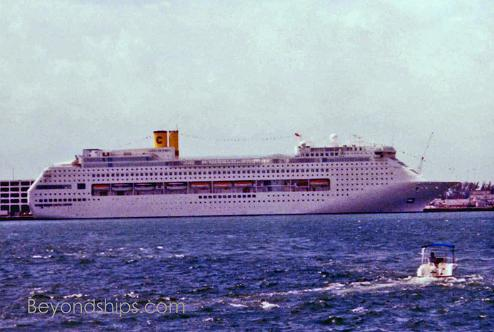 cruise ship Costa Victoria
