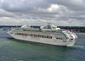 Sea Princess, cruise ship