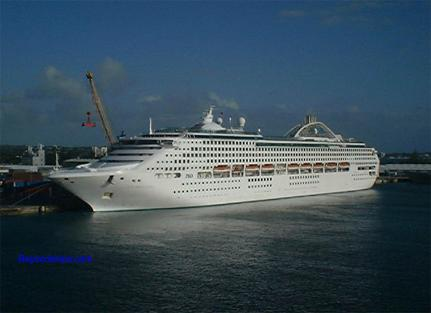 cruise ship Sun Princess
