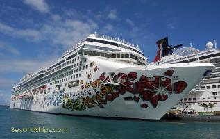 Image of cruise ship Norwegian Gem