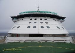 Cruise ship Brilliance of the Seas bridge front