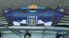 Cruise ship Brilliance of the Seas scroll work