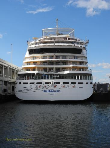 AIDAbella cruise ship